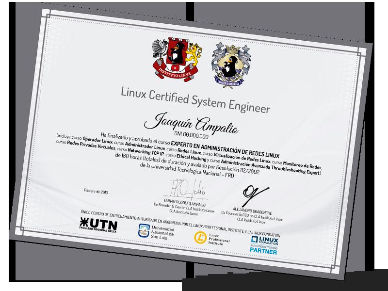 Certificación Linux System Engineer
