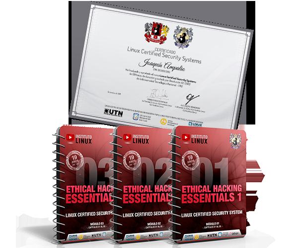 Ethical Hacker Expert - Certificación CLA Instituto LInux y UTN-FRD