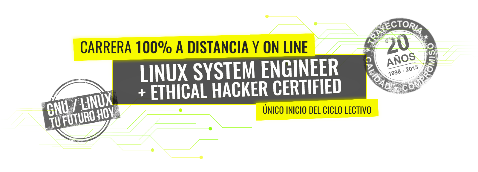 LINUX SYSTEM ENGINEER + ETHICAL HACKER CERTIFIED