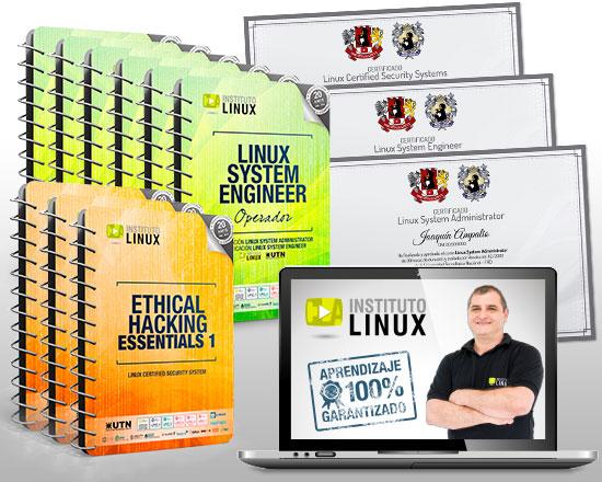 LINUX SYSTEM ENGINEER + ETHICAL HACKING EXPERT ¡100% GRATIS!