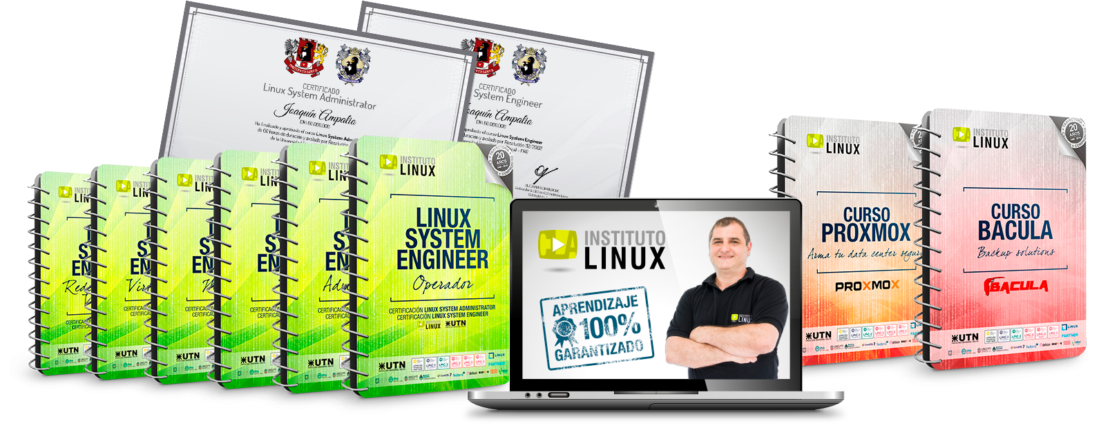 LINUX SYSTEM ENGINEER + BACULA + PROXMOX