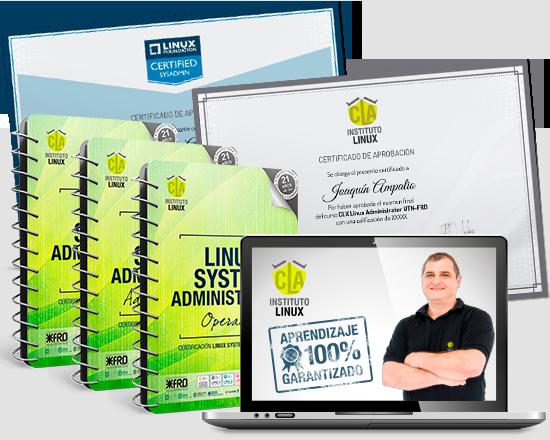LINUX SYSTEM ADMINISTRATOR + LSA Linux Foundation LFCS
