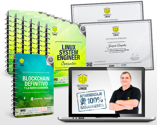 LINUX SYSTEM ENGINEER + BLOCKCHAIN DEFINITIVO ¡100% GRATIS!