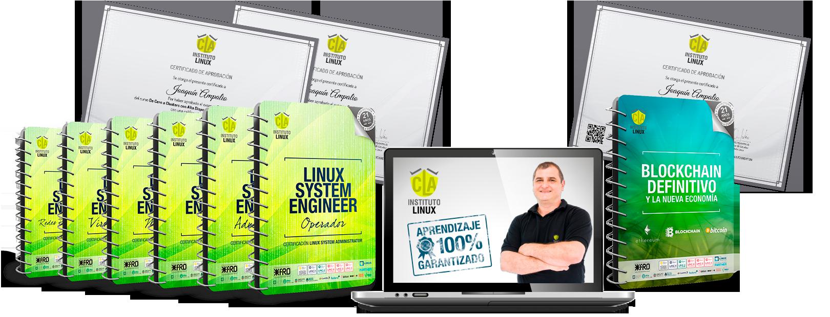LINUX SYSTEM ENGINEER + Blockchain Definitivo y la Nueva Economía