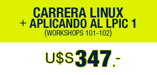 Carrera Linux + Aplicando al PLIC 1 U$S 347