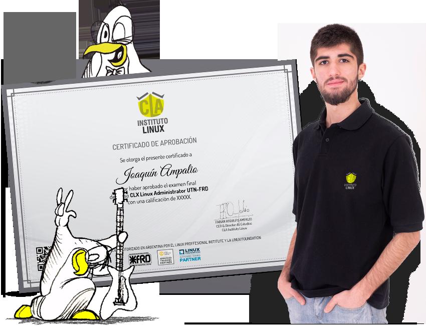 Certificación LINUX SYSTEM ADMINISTRATOR de CLA Instituto Linux