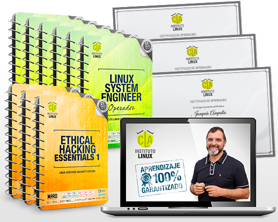 LINUX SYSTEM ENGINEER + ETHICAL HACKING EXPERT ¡100% GRATIS!