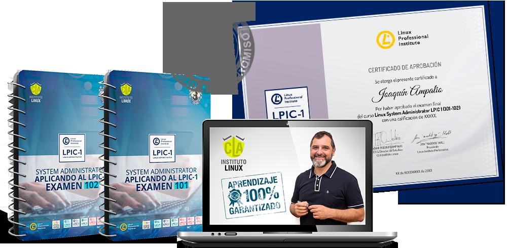 LPIC 1 Exámenes 101 y 102