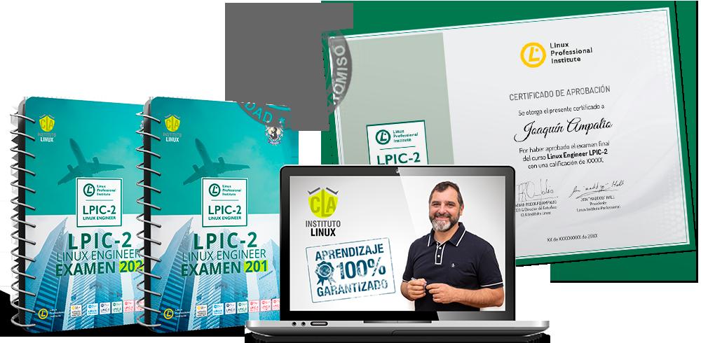 LPIC 2 Exámenes 201 y 202