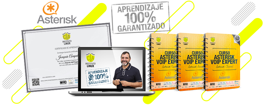 CLA Instituto Linux - ASTERISK VOIP EXPERT